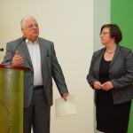 JM Rektor UP prof. Michał Śliwa i prof. Katarzyna Dormus